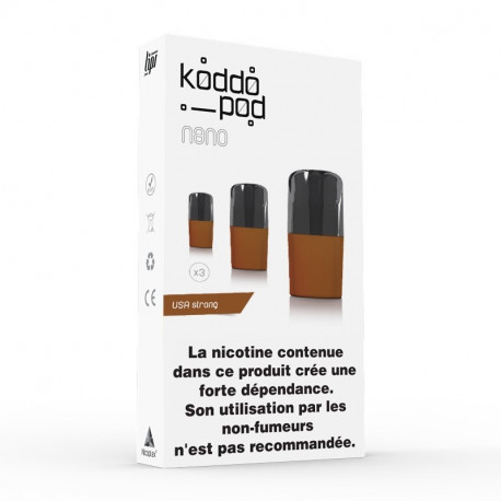 3x Pods Usa Strong / Koddopod / Le French Liquide