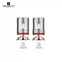 5x résistances GTX Mesh / Vaporesso