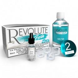 Pack 100 ml Base DIY Fresh 50/50 Revolute