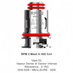 5x Résistances RPM2 SCAR P3 / P5 / Smoktech