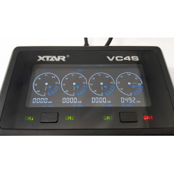 Chargeur accus VC4S / XTAR