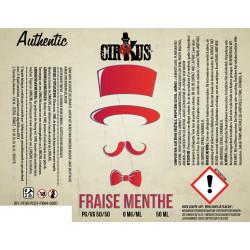 E-liquide Fraise Menthe / Cirkus