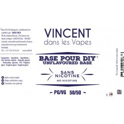 Base 1L sans nicotine / Vdlv