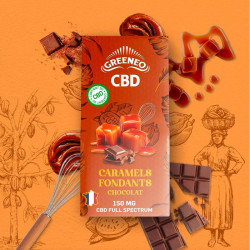 CARAMELS FONDANTS CHOCOLAT au CBD