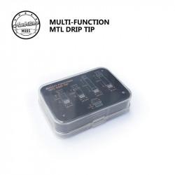 Drip Tip 510 Transparent / Ambition Mods