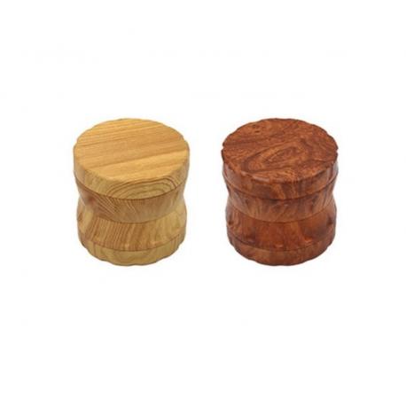 Grinder - 4 etages - 63x60mm - Resin Wood