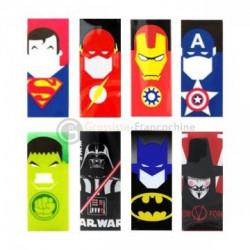 Wraps Accu 18650 Super Heros